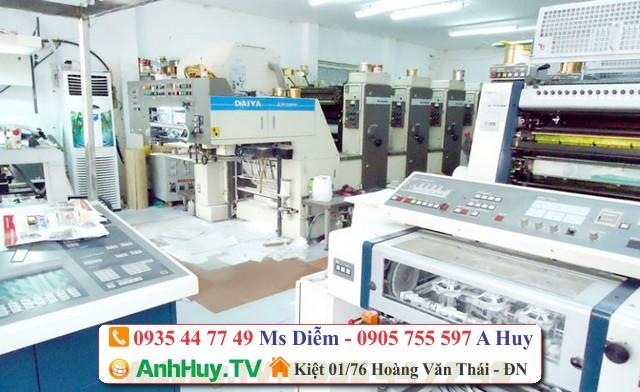 In name card tại in Anh Huy TV - in giá rẻ Đà Nẵng 0935447749