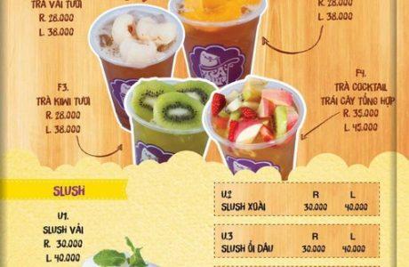 làm menu trà sữa handmade giá rẻ 0905 755 597